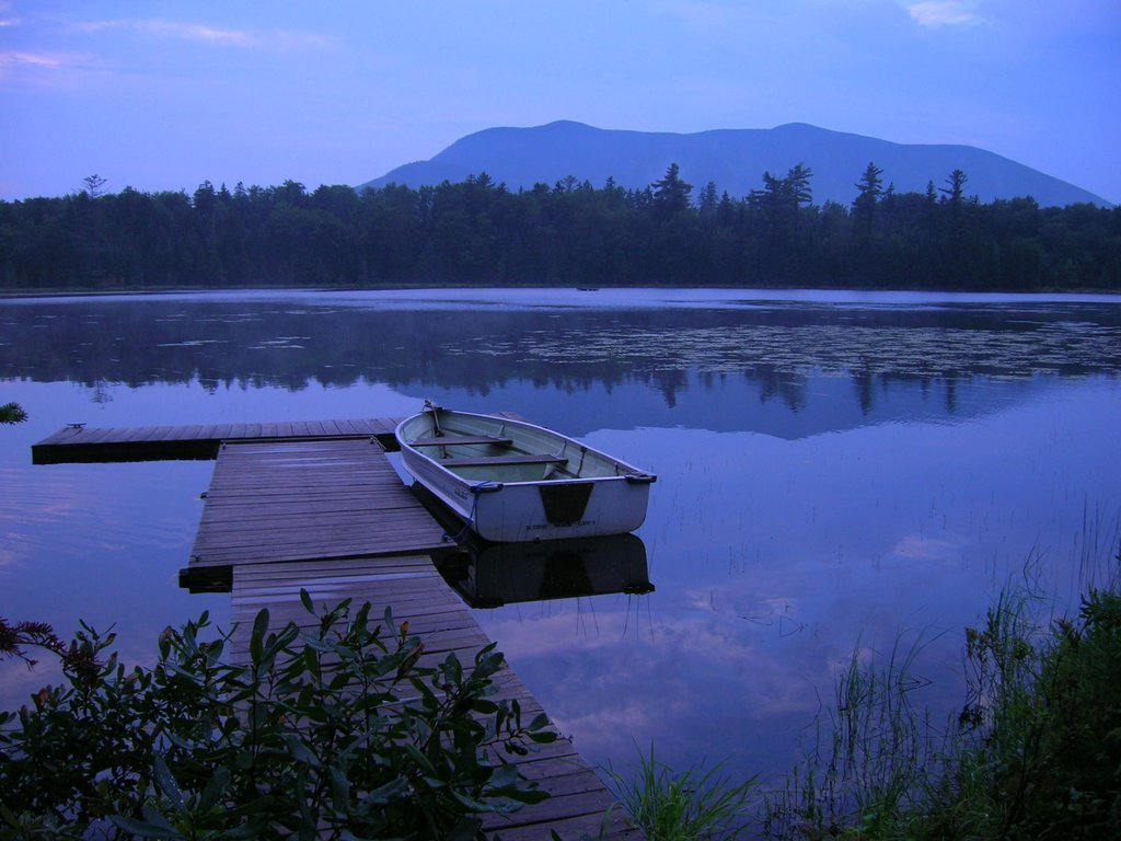 Maine - Little Lyford Pond - 100 Mile Wilderness
