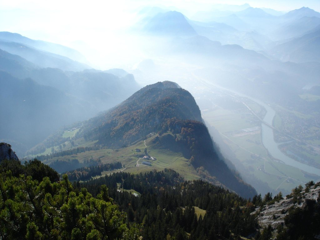 View from Naunspitze