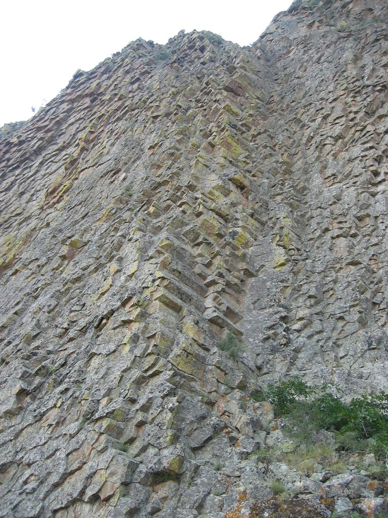 Hexagonal Basaltic Columns