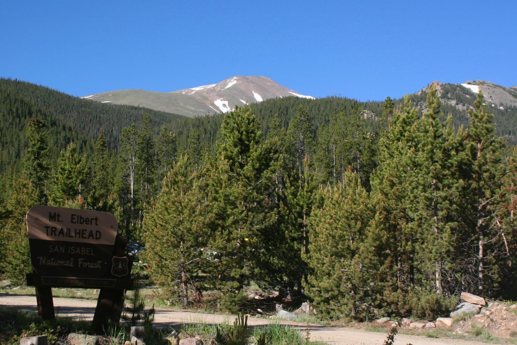 Mt. Elbert Trailhead