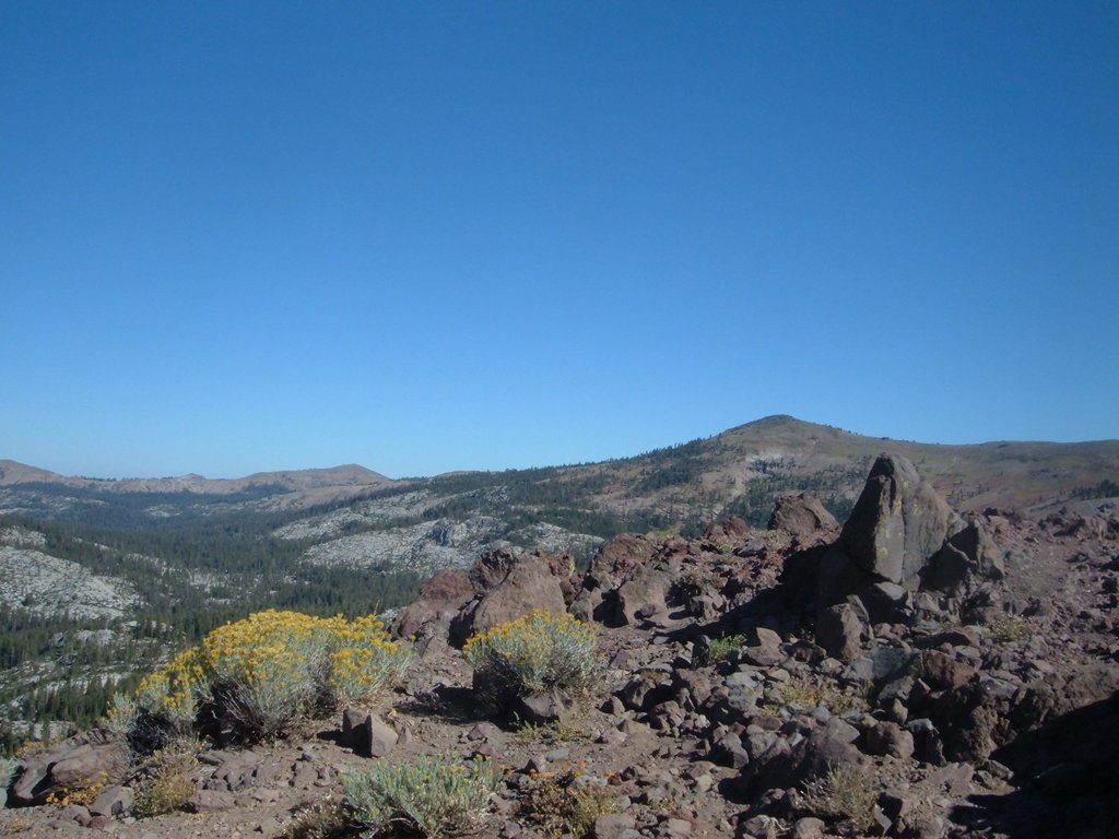 View northeast from Andesite