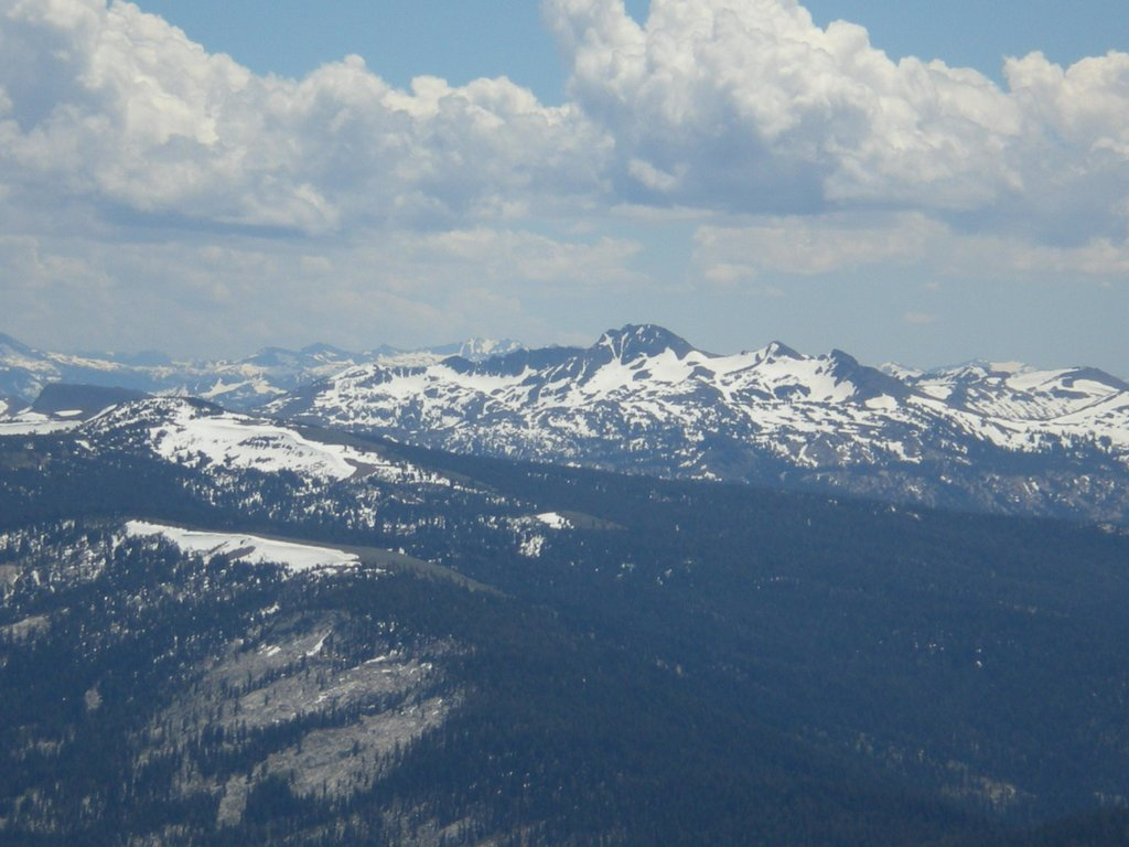 From Pyramid Peak