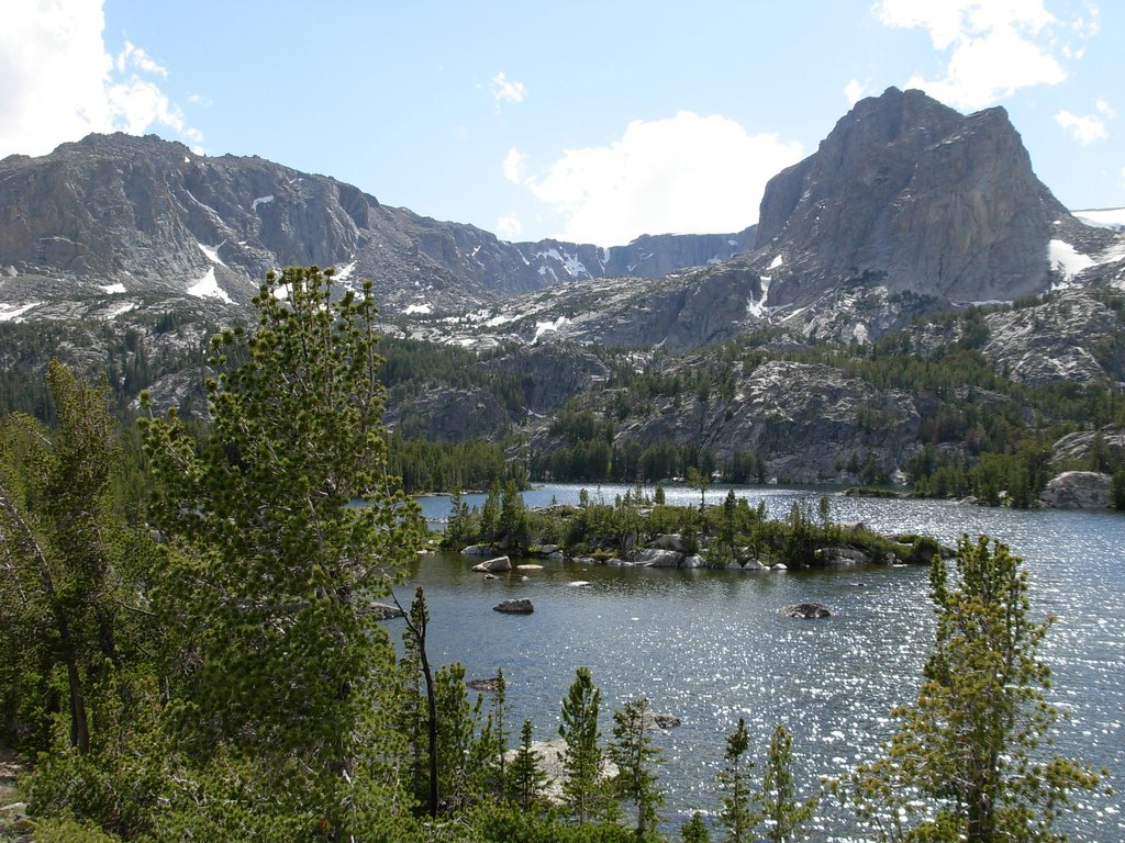Gannett Peak Trip - Double Lake
