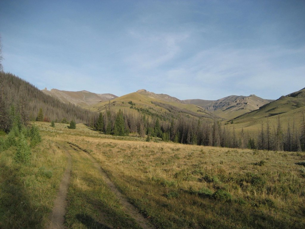 Trailhead view
