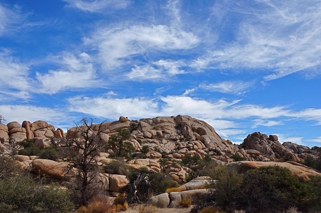 Wonderland of Rocks sky
