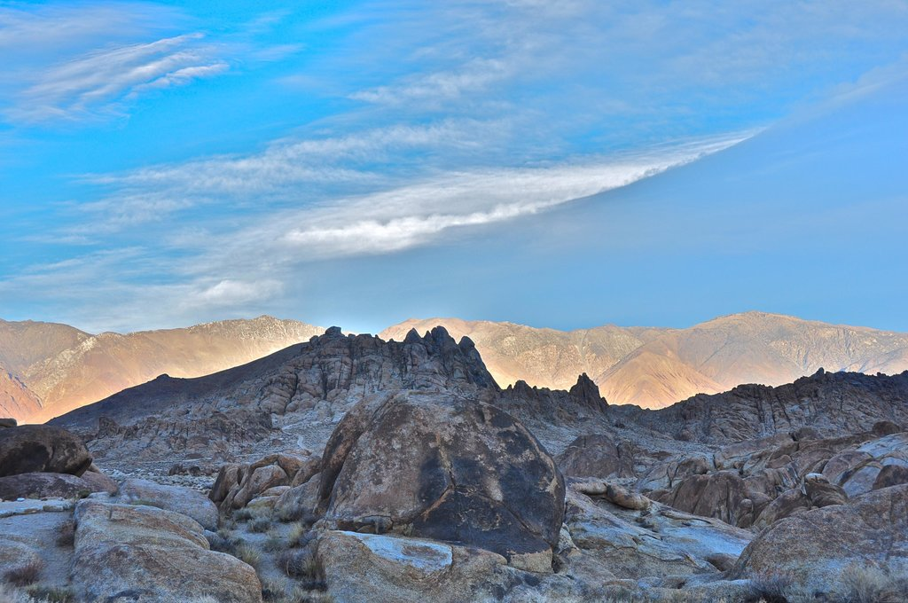 Inyo Mountains...