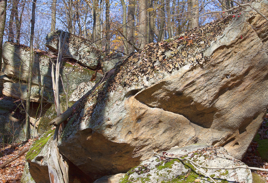 Another view of the Rocks Along Meadow Mountain Ridge