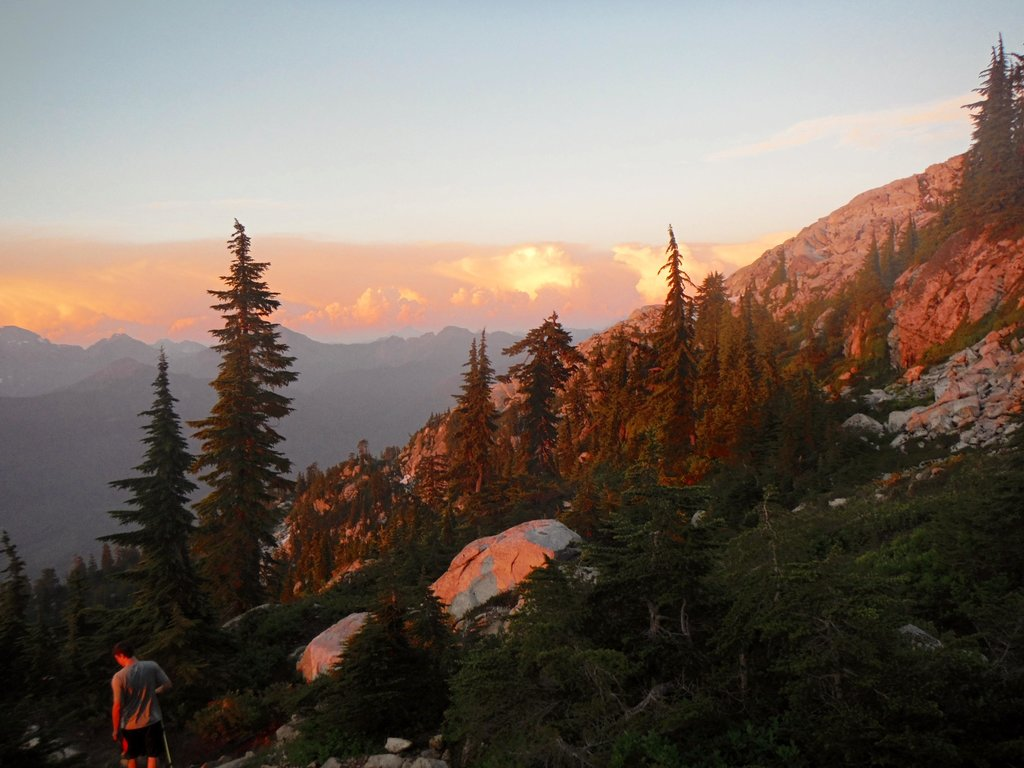 The Evening Light On Pilchuck