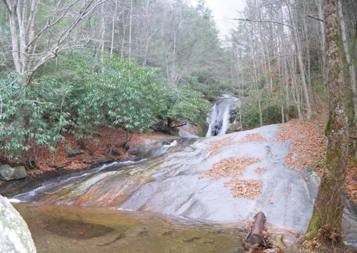 Widow's Creek Falls, a short...