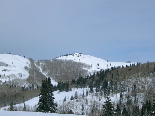 Murdock Peak in winter