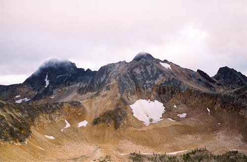 Monument Peak and Blackcap...
