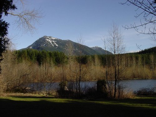 Mount Washington and Rattlesnake Lake
