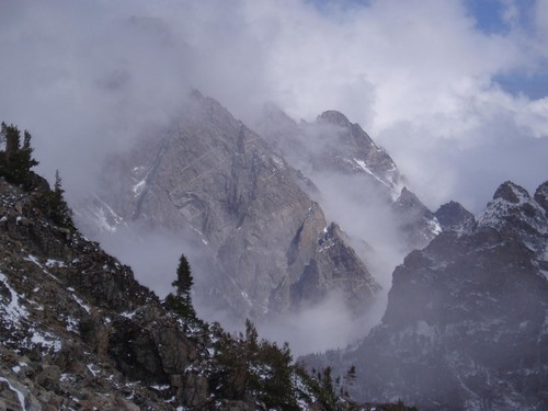 Mountains of Mist in Paintbrush Canyon