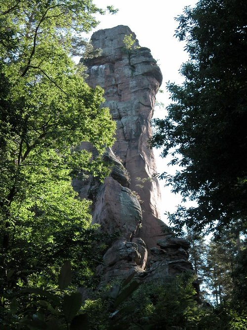 Asselstein north-east face