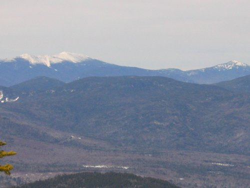 Franconia Ridge and Mount Garfield from the Lookout