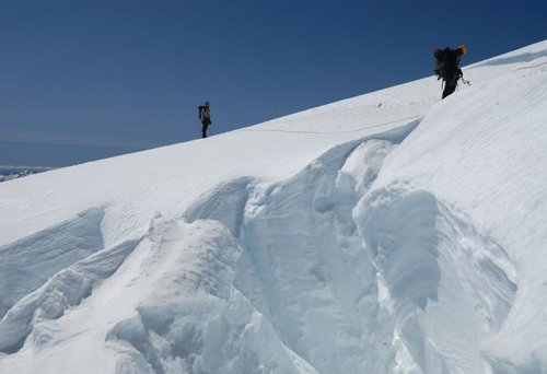 crevasse crossing