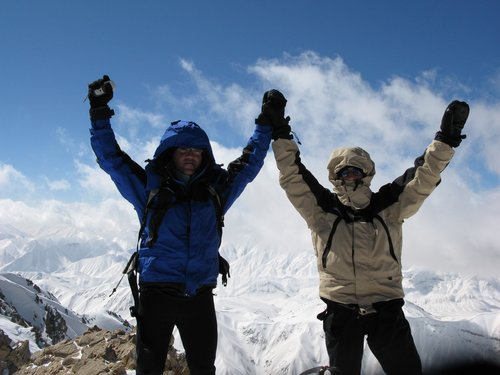 double HAMID on sanboran summit