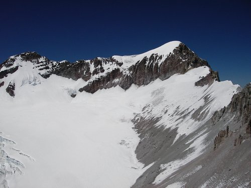 North Peak and Summit (right), Nevado Solimana