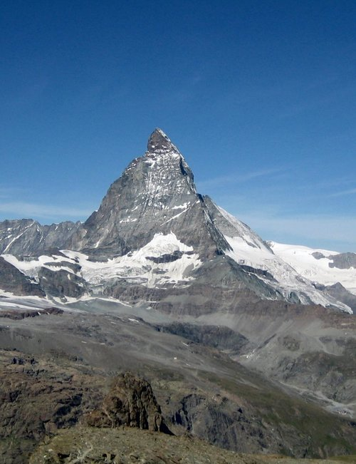 Matterhorn in the sunshine