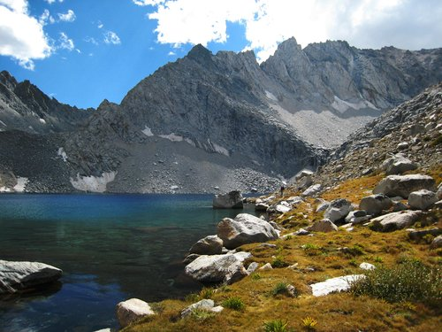 Looking South from Echo Lake (11,602 ), Sierra Nevada