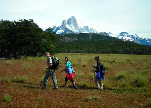 Hiking with the Fitz Roy