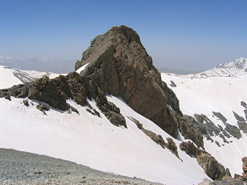 North Slopes of South Borj Peak