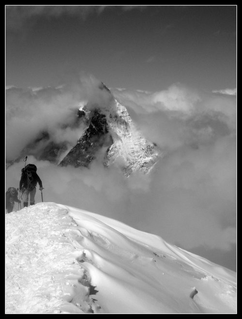Matterhorn-view from Breithorn