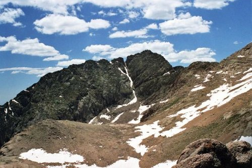 Mount Eolus' east face. Photo...