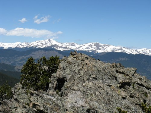 Bard Peak and Englemann Peak