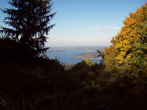 Lake Sammamish from Anti-Aircraft Peak