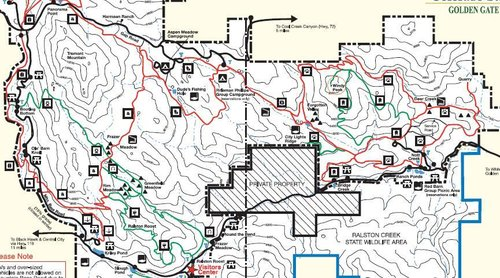 Detailed Park Map_Golden Gate Canyon