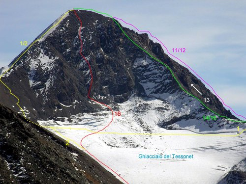 ALL THE ROUTES OF PUNTA TERSIVA (21)