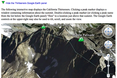 Google Earth Plugin Demo