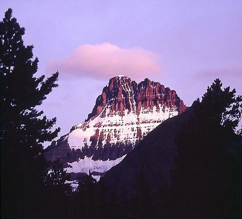 Early morning light on Mount Wilbur