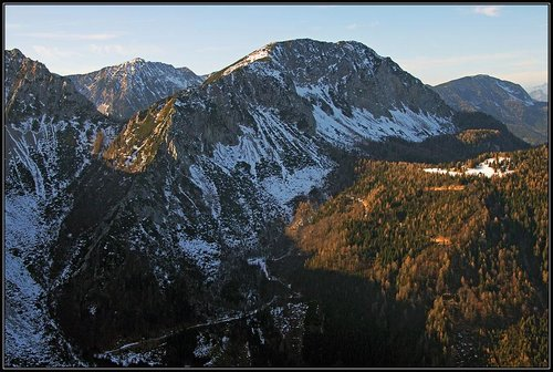 Geissberg/Kozjak from the E