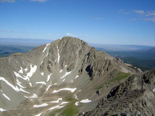 View of Mount Mahler from the...