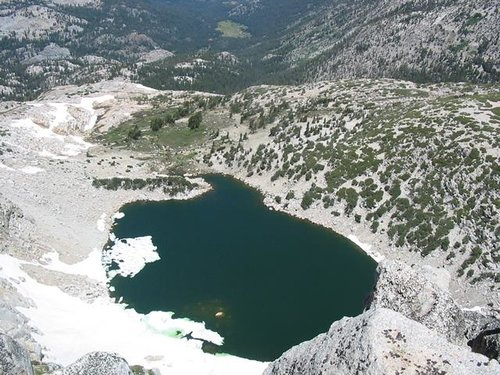 Kirkwood Lake from the...