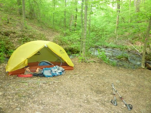 Upper Lance Creek Campsite