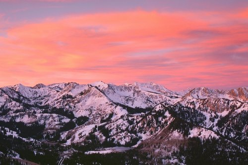 Beautiful Wasatch Sunrise