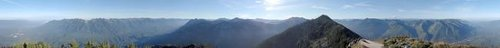 360 Pano from Mailbox Peak -...