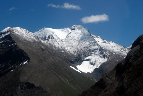 The Hoher Tenn (3368m)