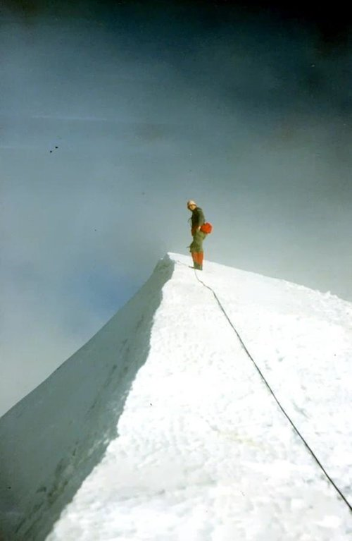 WESTERN BREITHORN (4165m) on SUMMIT 1967