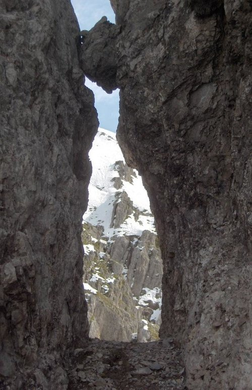 A window to the Karwendel