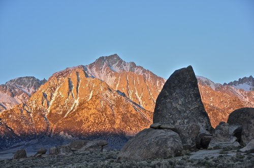 Shark's Fin and Lone Pine Peak