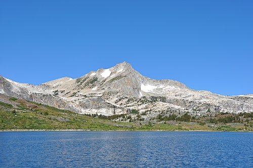 North Peak seen from Saddlebag Lake