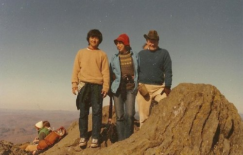 1982 Pucture from Camel's Hump (Vermont) Summit