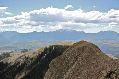 View South from Point 12,311 feet