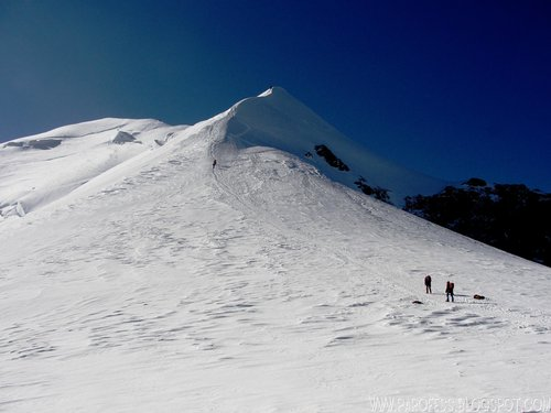 Mont Blanc - Bosses Ridge