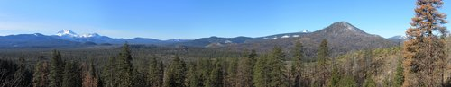 Hat Creek Rim panorama