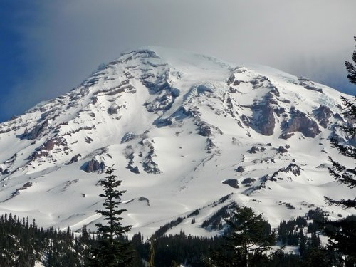 Mount Rainier's South Face